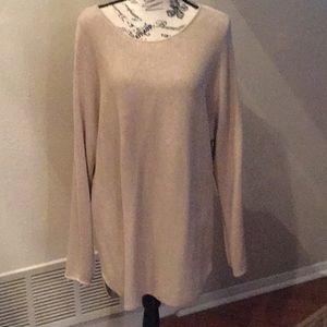 Michael Kors Beige Sweater NWOT size 1x